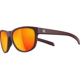 adidas Wildcharge Cykelglasögon brun/röd